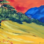 Korenvelden bij Gubbio